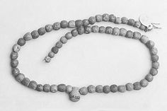Necklace of Ball Beads and a Vase Amulet | Middle Kingdom–Early New Kingdom | The Met