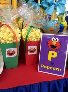 Sesame Street Birthday Party Ideas | Photo 1 of 17 | Catch My Party