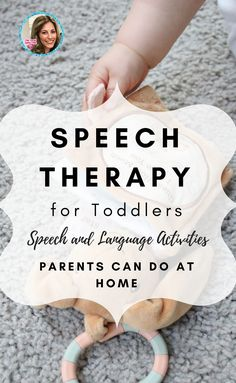 Speech Therapy for Toddlers