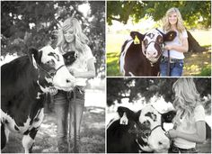 """Cattle with Senior Pictures Ideas 