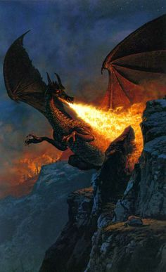 Ted Nasmith: Scouring the Mountain