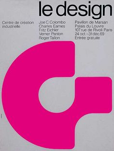 Exhibition poster by Jean Widmer (1969)