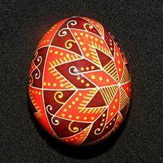 Ukrainian Pysanka. Easter Egg. Real Chicken Egg. by Vernisazh2014