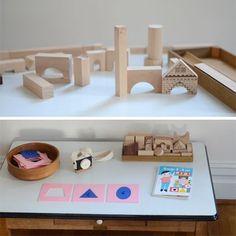 Waldorf, Montessori and Reggio Emilia Inspired Playrooms and Crafts | Spoonful