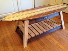 Hey, I found this really awesome Etsy listing at https://www.etsy.com/listing/186780460/amazing-surfboard-coffee-table-with