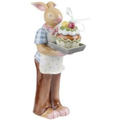 """Villeroy & Boch Bunny Family Daddy Bunny with Baking Tray 7"""", $24.95"""