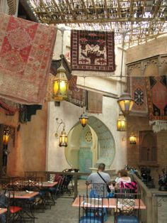 Agrabah Cafe, Disneyland Paris.  Globe Travel in Bristol, CT is the authorized Disney vacation planner you've been searching for!  Call us today at 860-584-0517 or email us at info@globetvl.com for more information on how to make your Disney dreams come true!