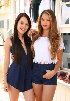 Paris Berelc and Kelli Burgland