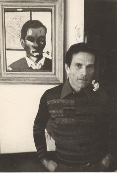 Pier Paolo Pasolini, Roma 1973 photo Massimo Listri