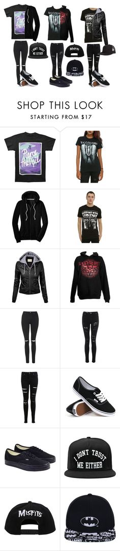 """Snapbacks"" by phanisnotonfire6 ❤ liked on Polyvore featuring Topshop, Miss Selfridge, Vans and UNIF"