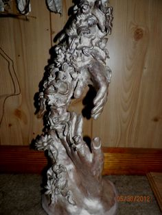 A clay  sculpture I made. Deana Tankersley