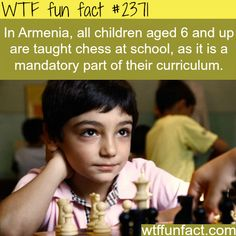 Armenia and chess at schools - WTF fun facts