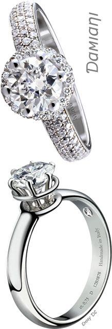 Brilliant Luxury by Emmy DE * Damiani 'Minou' Rings