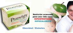 Promelight - Alimento hiperprotéico e hipocalórico ideal en el tratamiento de la obesidad y la diabetes.