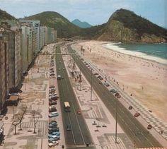 Av. Atlântica, Copacabana, 1970.