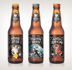 Grimm Brothers Brewery. The labels are enough to win me over! And they go with my current obsession.