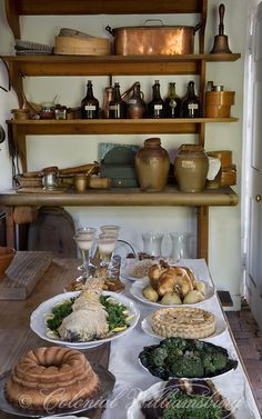 Governor's Palace Kitchen Colonial Williamsburg.