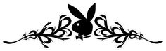 Playboy Bunny Band Temporary Tattoo Temporary Tattoo - Size 8 x 2 inch (20.5 x 5cm) approx Be a Tribal Playboy Bunny Babe; go for it girls our Playboy Bunny Band Tribal style is the tattoo to be seen wearing. Try lots of different designs first before going under the needle and make sure you don't make a tattoo howler! Go Playboy Bunny passion style with our unique Playboy Bunny in Pink tattoo. Tattoo Fashion price: £2.50 / $4.28 (Excluding VAT at 20%)