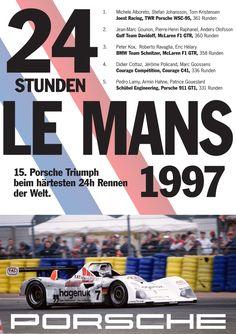 Porsche 1997 Le Mans Victory