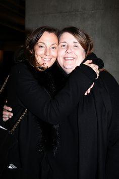 Phoebe Philo and Louise Wilson