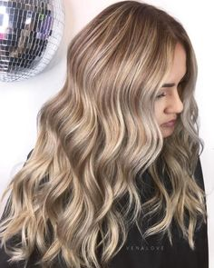 Blonde Multi Colored Waves