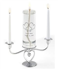 Personalized Eternity Unity Candle