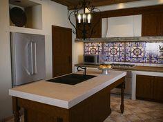 N-Spanish-Kitchen-2-1024-Benjamin Moore Lancaster Whitewash