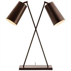 Iron Cross Lamp - Hous Interiors