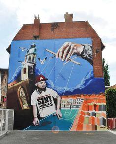 Street art  Artist :Smates  (Bart Smeets)