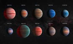 Hubble reveals diversity of exoplanet atmosphere: Largest ever comparative study solves missing water mystery.