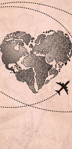 Wallpaper Coração Mapa Mundi by Gocase trip viagem aeroporto avião linhas trajetos wanderlust worldwide wanderlust mapa mundi mapa viajar wallpaper papel de parede lovegocase gocase background Iphone Wallpaper Travel, Iphone Wallpaper Herbst, Samsung Galaxy Wallpaper, Map Wallpaper, Locked Wallpaper, Tumblr Wallpaper, Cellphone Wallpaper, Aesthetic Iphone Wallpaper, Screen Wallpaper