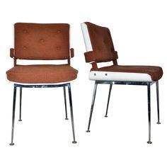 Alain Richard, chaises 1950's