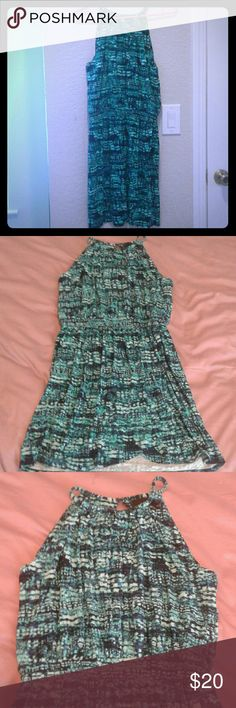 Cynthia Rowley Dress Beautiful Dress brand Cynthia Rowley, color blue. Sleeve less. Excellents conditions. Cynthia Rowley Dresses
