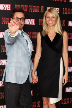 Gwyneth Paltrow and Robert Downey, Jr. at event of Iron Man 3 Iron Man 3, Marvel Actors, Marvel Movies, Tony And Pepper, Robert Downey Jr., Robert Downey Jr Young, Iron Man Avengers, Marvel Avengers, Iron Man Tony Stark