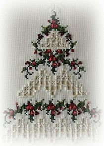 Hardanger Embroidery Ideas I love this, it's so pretty! Types Of Embroidery, Learn Embroidery, Hand Embroidery Stitches, Silk Ribbon Embroidery, Embroidery Techniques, Cross Stitch Embroidery, Embroidery Patterns, Xmas Cross Stitch, Cross Stitching