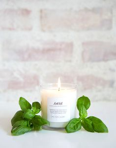 The Little Market Garden Rose Soy Blend Candle