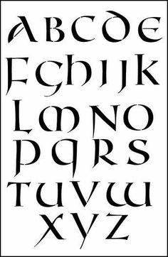 tipografias unciales
