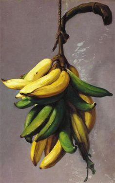 Francisco Oller,  Plátanos amarillos , 1892–93  Courtesy of El Museo del Barrio, New York City