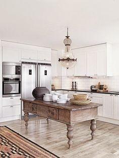 Quiero una isla en la cocina!!!   Etxekodeco
