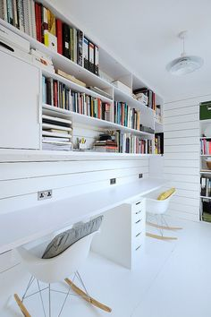 Heath Cottage office space - scandinavian - Home Office - Scotland - Brown + Brown Architects