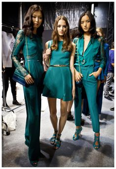 ELIE SAAB Ready-to-Wear Spring Summer 2015 - Backstage