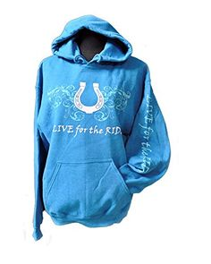 Live for the Ride Horse Hoodie Horseshoe Hoodie Aqua M Live for the Ride http://www.amazon.com/dp/B00SA3XYOI/ref=cm_sw_r_pi_dp_7ksQvb0HT5X4Q