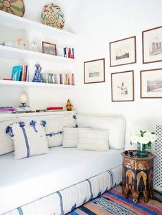 A daybed might be the solution to your small apartment.