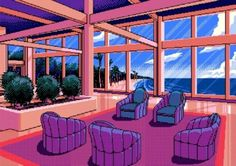 vaporwave city Image in Pixel Art collection by varoye on We Heart It Pixel City, Pixel Art Background, Vaporwave Art, Retro Waves, Lounge, Estilo Retro, Retro Aesthetic, Kawaii Anime, Art Inspo
