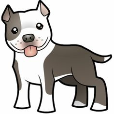 I just need to change this to have Tank's markings and this will be my pit bull tattoo!