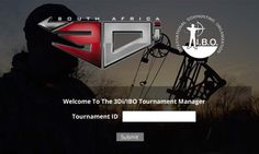 Tournament Manager Log in Screen. 3DI software developed by DSI- www.dsisa.co.za http://africanbowhunting.org/3Di/