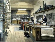 Sergeant Anderson in the Basement Laboratory 1852 by Harriet Jane Moore
