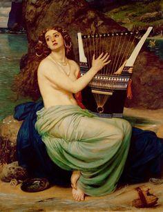The Siren by Edward John Poynter (1864) - セイレーン - Wikipedia