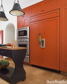 #Kitchen of the Month, May 2014. Design: Melanie Coddington. Cabinet Pulls.