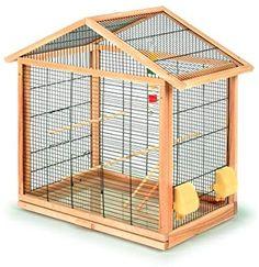 Pitti Cage pour oiseaux Antonia 70 x 40 x 67 cm Bird Cage Design, Diy Bird Cage, Diy Parakeet Cage, Turtle Cage, Love Birds Pet, Rabbits For Sale, Sugar Glider Toys, Antique Bird Cages, Dog Organization